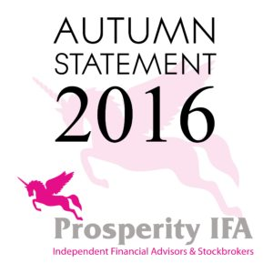 Prosperity IFA's Autumn Statement Summary